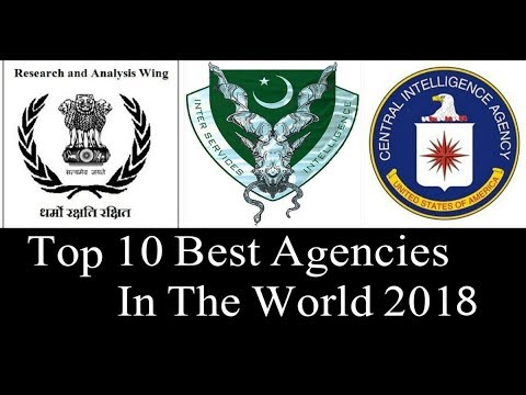 Top 10 Intelligence Agencies In the World latest video 2018 Must Watch
