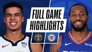 NUGGETS at CLIPPERS | FULL GAME HIGHLIGHTS | April 1, 2021