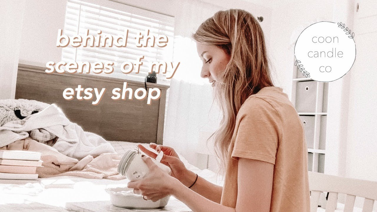 day in the life of an etsy business owner | jonlyn coon