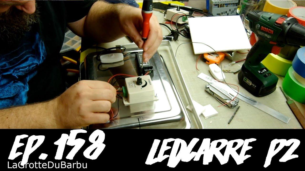 Base Part2 De Led Ep158 Lampe D'intensité Ledcarré D'une À Fabrication Strip Avec Variateur PZiXuwkOTl