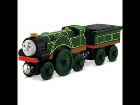 Thomas et ses amis emily train en bois jouet youtube - Train thomas et ses amis ...