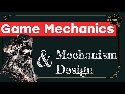 Game Mechanics and Mechanism Design