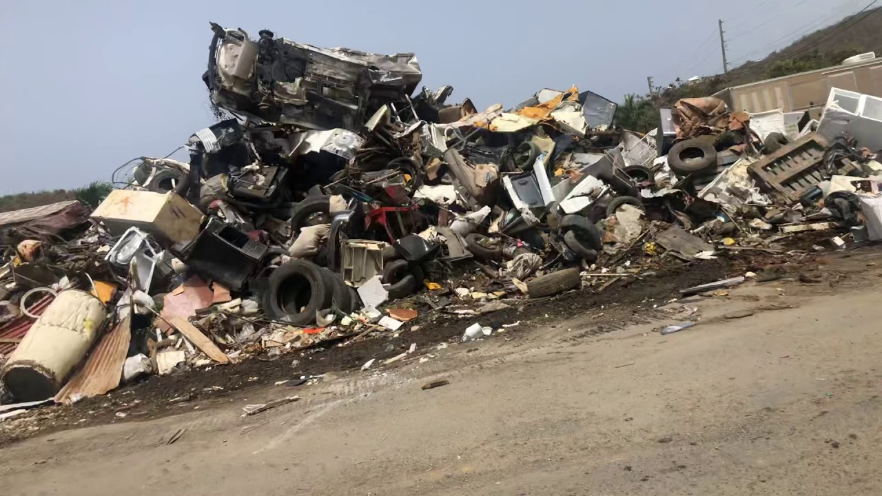 Clearing The Scrap Metal Pile