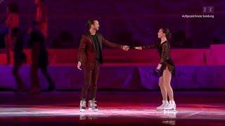Alina Zagitova 20 02 08 Art On Ice Glitter Gold Hallelujah