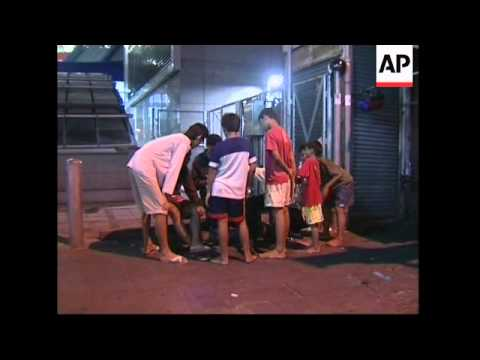 Street kids exposed to HIV in Bangkok slums