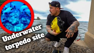 Abandoned underwater torpedo launch site in Japan (LET'S EXPLORE)