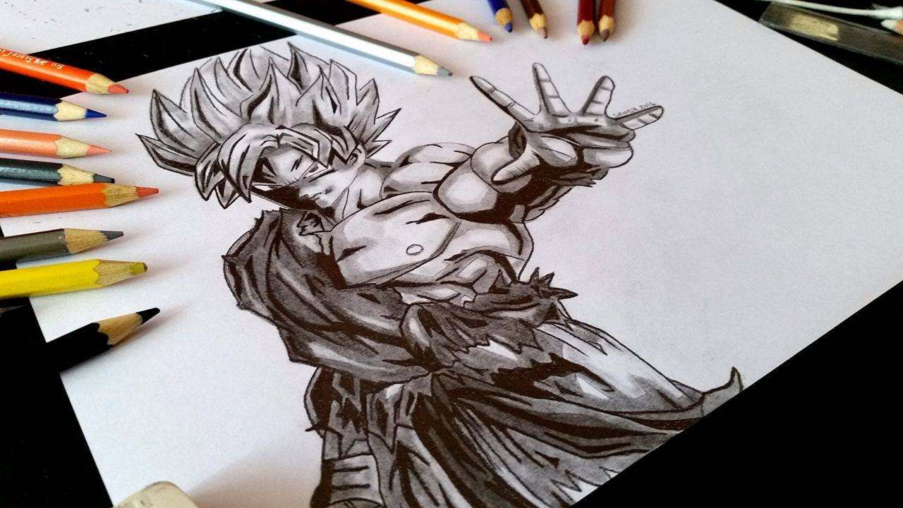 how to draw goku ssj dragon ball sandy sandy youtube