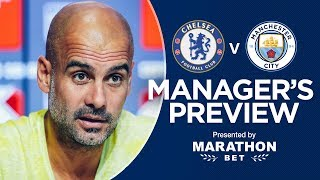 IT WILL BE A GOOD GAME | CITY v CHELSEA | Community Shield 2018/19