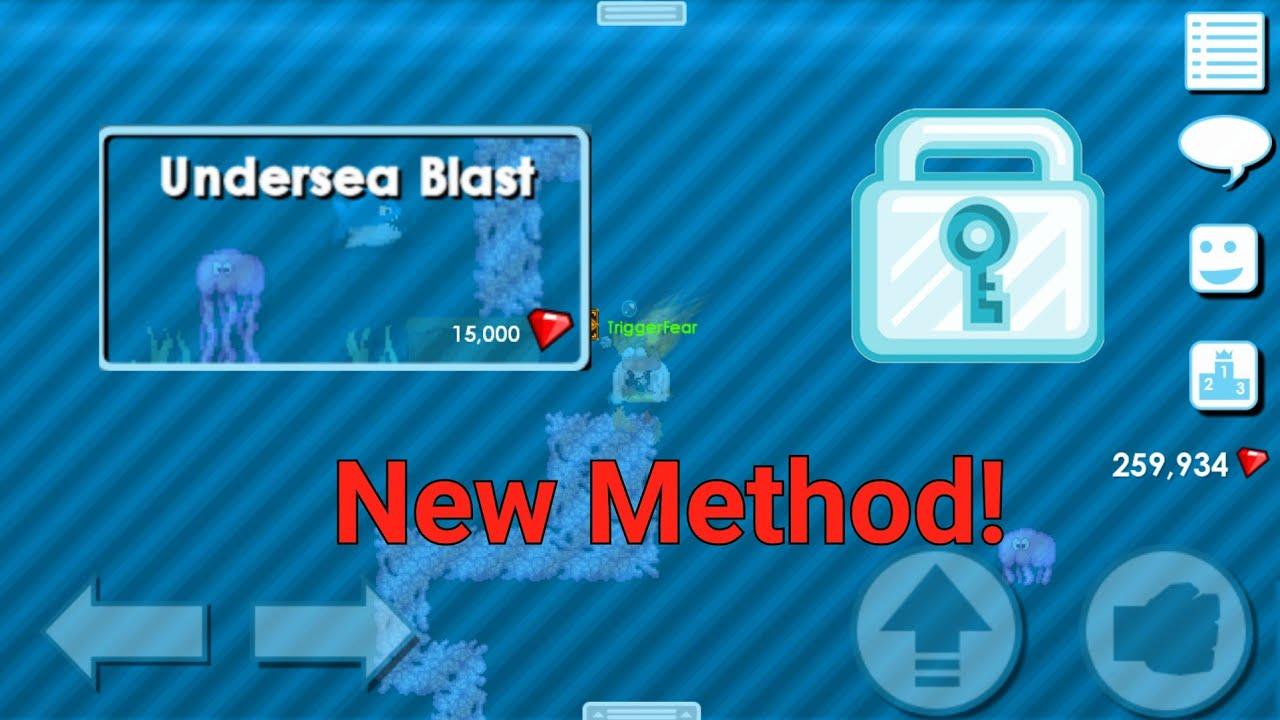 Extreme Profit With Undersea Blast?!?! - Growtopia 1