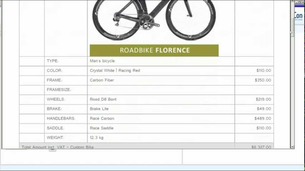 The e-Con bike configurator, watch and interact | Custom bike configuration