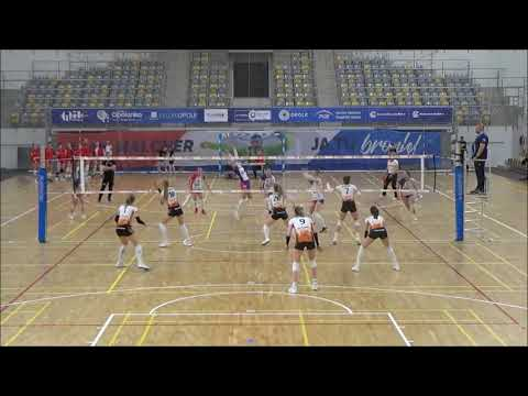 Weronika Sobiczewska OPPOSITE 2019-2020 nr 8 white-orange shirt