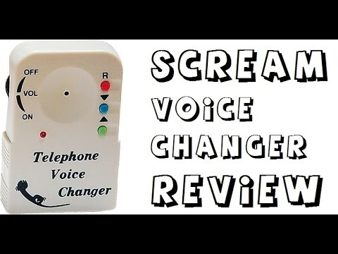 Voice Changer From Scream Review Youtube