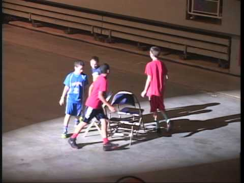 Commonwealth Games 2014 Basketball Musical Chairs