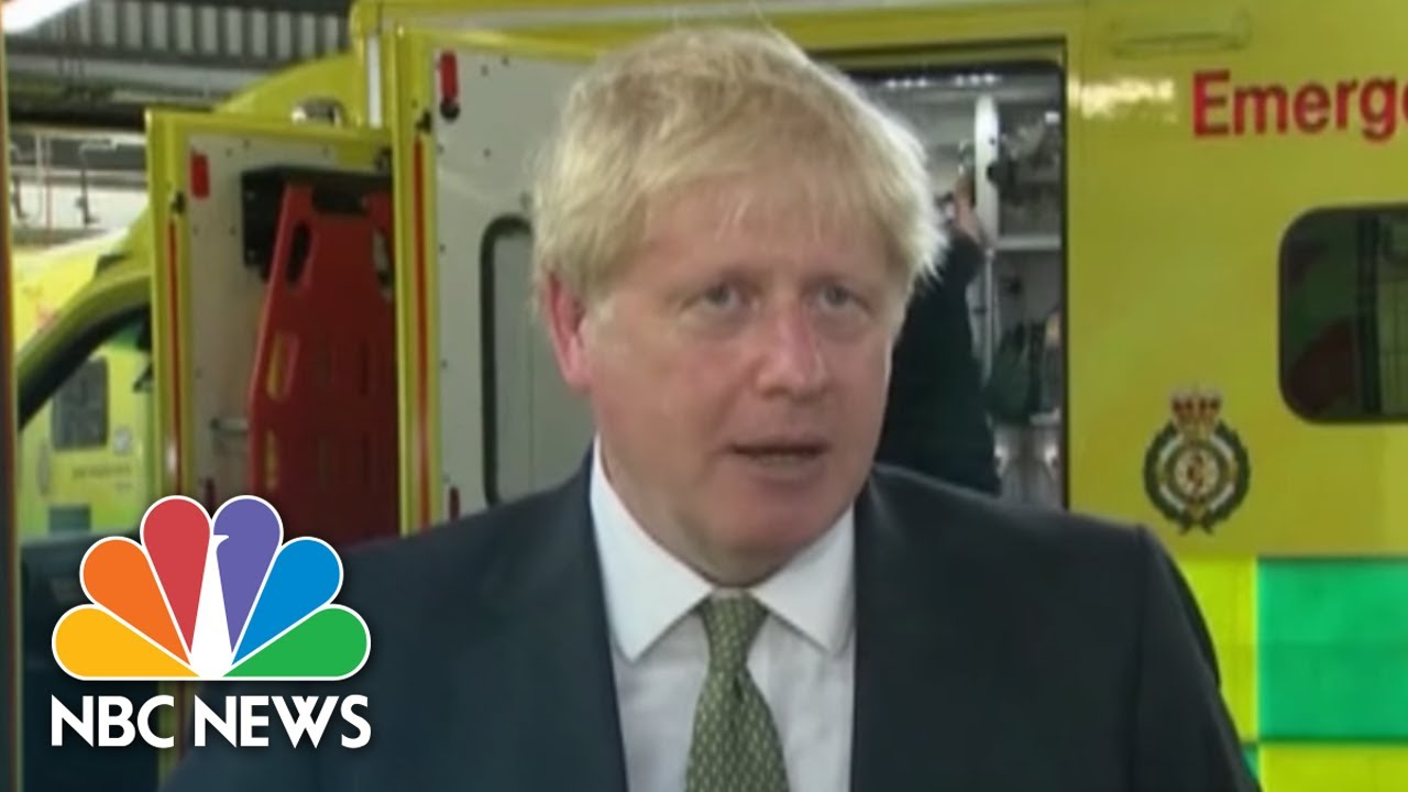 U.K. Prime Minister Signals Toughening Policy On Wearing Face Masks | NBC News NOW