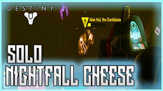 Destiny The Taken King Solo Nightfall Invincibility Cheese Glitch - The Sunless Cell