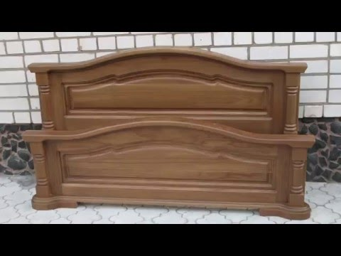 Смотреть Кровать из массива дуба. Чистая классика(furniture,cabinet).