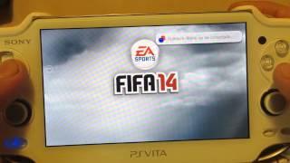 PSVITA FIFA 14 REVIEW EN ESPANOL DEL MENU