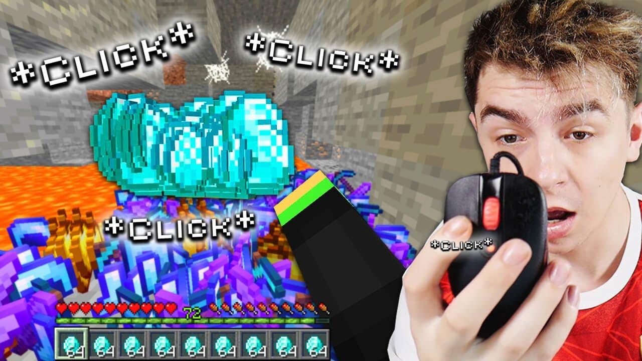 Každý CLICK Je OP v Minecraftu.. (padají EXTRÉMNÍ věci)