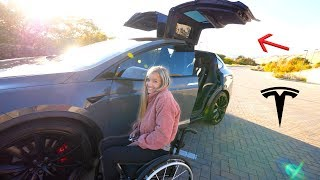 Download The Best Car for Someone in a Wheelchair?! - Our new Tesla Model X! Mp3 and Videos