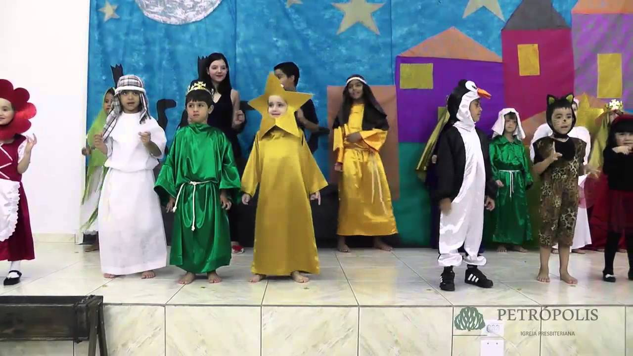 apresentação natal crianças 2015 youtube