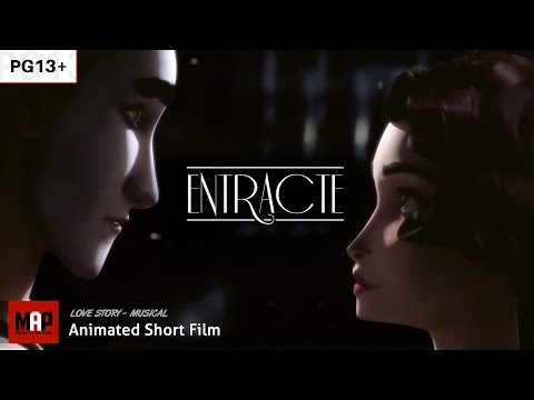 "CGI 3D Animated Short Film ""ENTRACTE"" Romantic Musical Animation by ESMA"