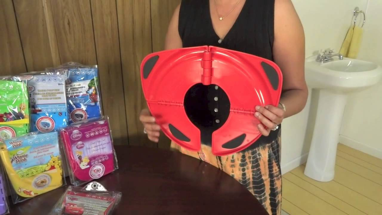Folding Travel Potty Seat Product Video Youtube