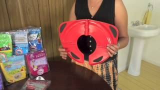 Folding Travel Potty Seat Product Video