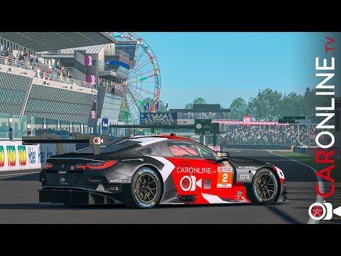 CarOnlineTV nas 12h Le Mans com BMW M8 GTE