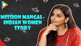 """Vidya: """"This is the STORY of almost every INDIAN WOMAN"""" Akshay Kumar Mission Mangal Music Script"""