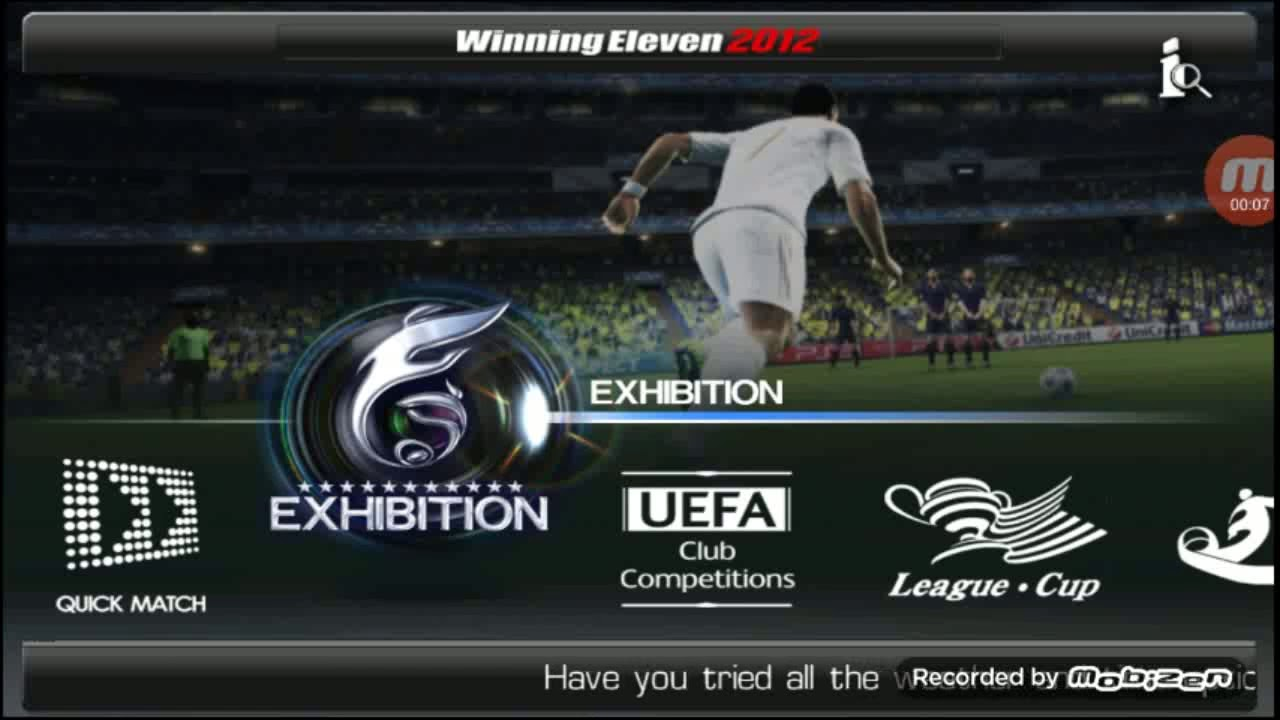 DOWNLOAD WINNING ELEVEN 2012 PATCH 2016 ON ANDROID - YouTube 0169d5233a2b1