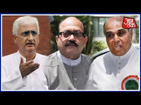 Panchayat AajTak: Salman Khurshid, Amar Singh, Jagdambika Pal On UP Polls