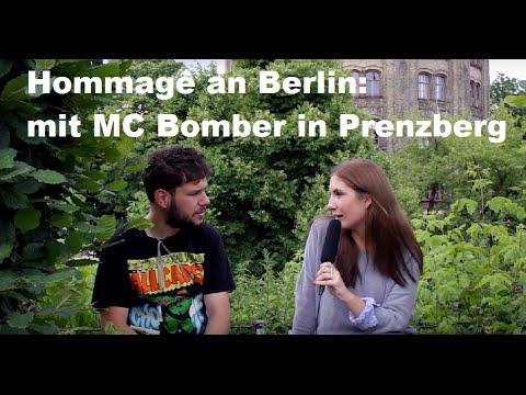 MC BOMBER über den Wandel Berlins, Live-Gigs & PREDIGT: Hommage an Berlin - Prenzlauer Berg