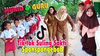 Tik Tok Spongebob Suling Sakti Oleh Murid Guru Paling Kocak