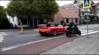 سرقة سيارة فيراري في هولندا
