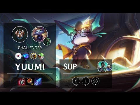 Yuumi Support vs Karma - KR Challenger Patch 10.12