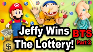 SML Jeffy WINS The LOTTERY!!! | Behind The Scenes | pt. 2