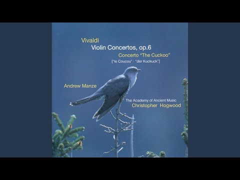 Vivaldi: Concerto in A major for violin & strings, RV335  The Cuckow  1 Allegro