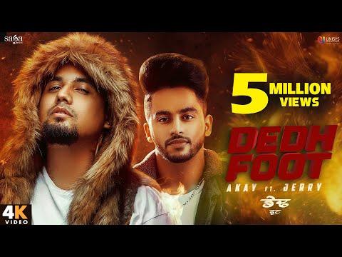 Dedh Futte Sand (Full Video) - Akay Ft. Jerry | Western Penduz | New Punjabi Song 2020 | Saga Music