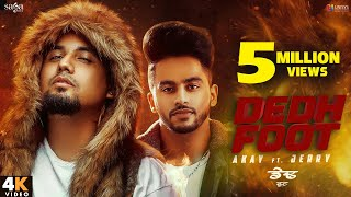 A Kay - Dedh Foot (Full Video) - Jerry | Western Penduz | New Punjabi Song 2020 | Saga Music
