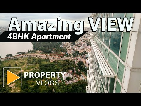 Biggest 4BHK Penthouse Amazing View from Top Most floor, Apartment in North Bangalore