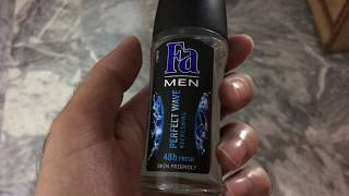 FA Men Perfect Wave deodorant review