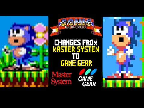 Sonic The Hedgehog 8-bit: Changes From Master System To Game Gear (25th Anniversary Special)