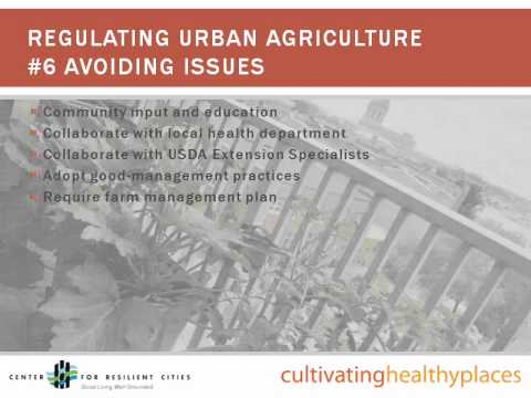 Urban Agriculture and Food System Planning.wmv