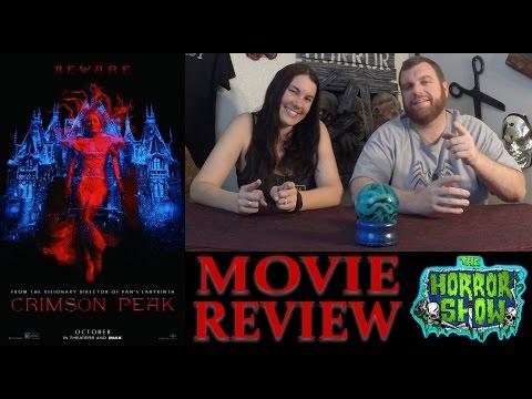 """Crimson Peak"" 2015 Horror Movie Review – RE-UPLOAD – Guillermo Del Toro Film – The Horror Show"
