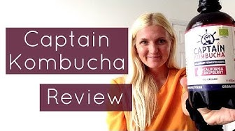 CAPTAIN KOMBUCHA REVIEW | Gut Health | Konsciously Kerri