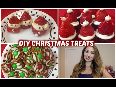 Easy Christmas Treats♥︎
