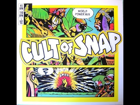 Snap! - Cult of Snap (Word Power Mix) Maxi-Single Vinyl RIP