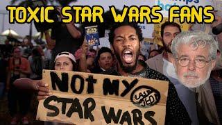 Why I Hate The Star Wars Fandom (Toxic Star Wars Fans)