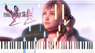 Final Fantasy XIII 2 Wish Piano Tutorial ファイナルファンタジーXIII 2 ピアノ