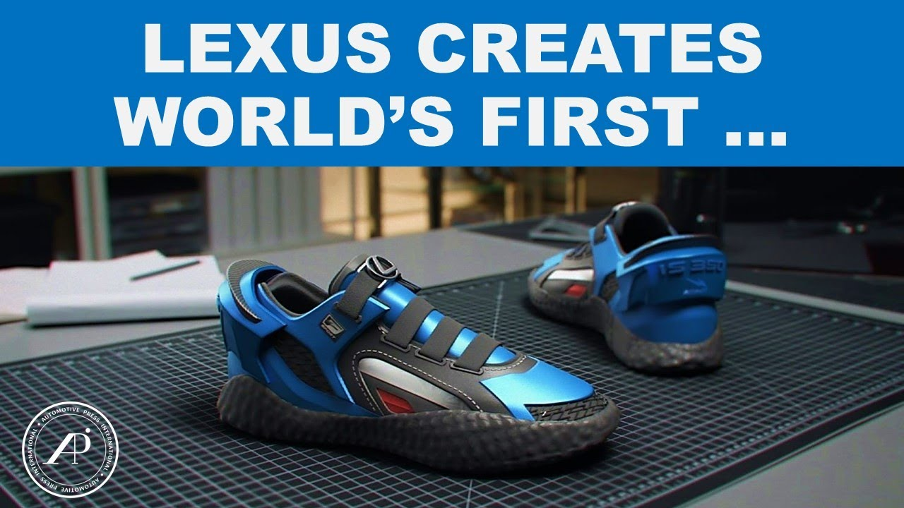 Lexus Creates World's First IS 350 Running Shoes? A Cool Project by Lexus and RTFKT